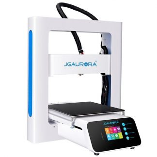 3D printer for blue and black objects