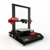 black, red and white 3D printer
