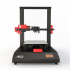 black and red 3D printer