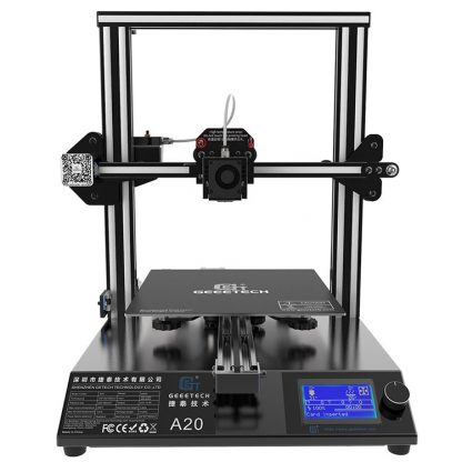 Black and Silver 3D Printer